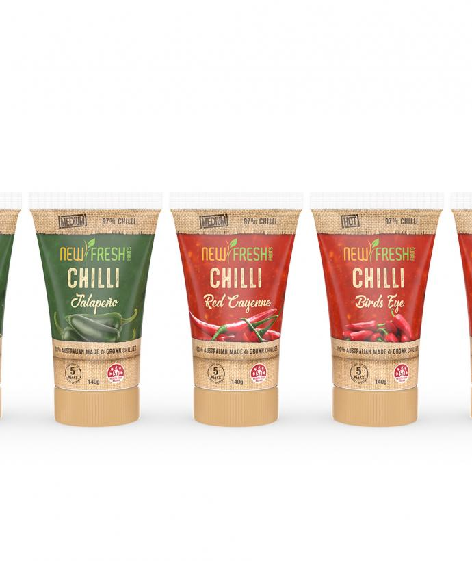 NewFresh Farms Chilli Paste Range