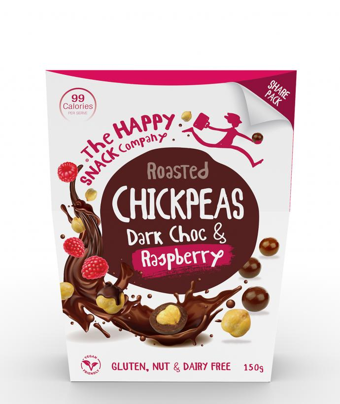 Dark Choc & Raspberry Share Pack