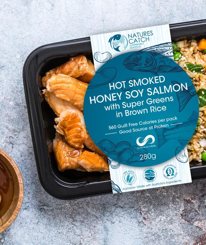 Natures Catch Honey Soy Salmon