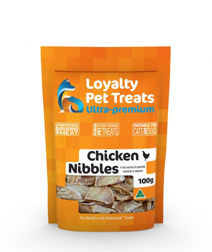 Loyalty Pet Treats Chicken Nibbles