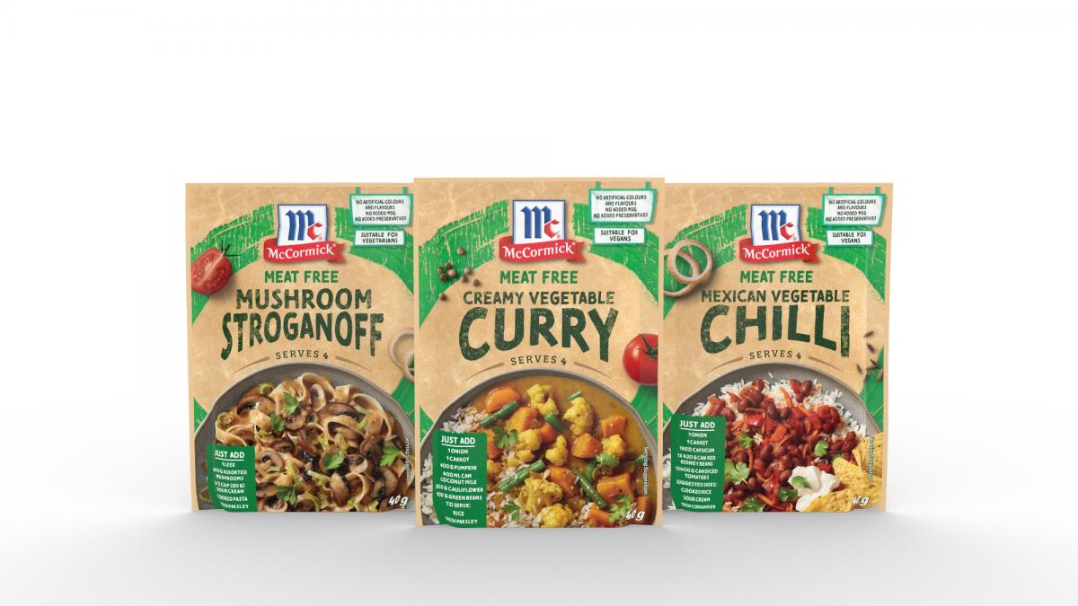 McCormick Meat Free Recipe Bases